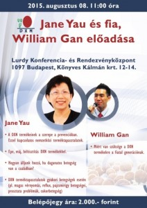Jane Yau és William Gan előadása