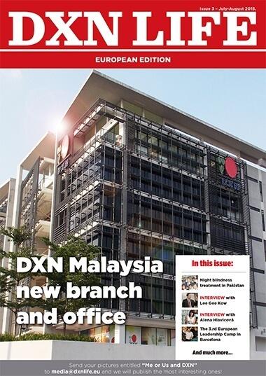 DXN Life Magazin angol nyelven