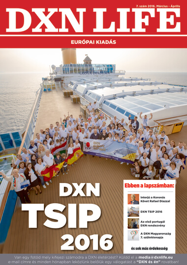 DXN Life Magazin magyar nyelven
