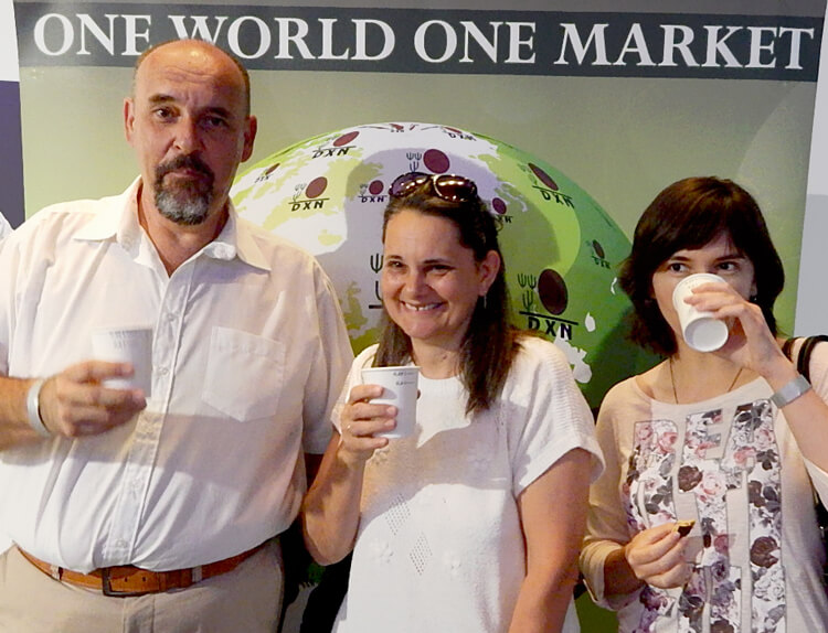 DXN Üzletépítők Napja - Kávézunk