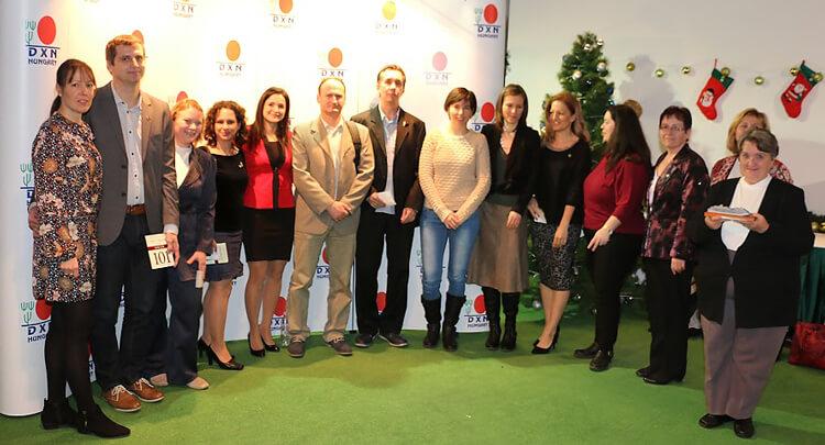 DXN Siker Pontverseny díjátadó csoportkép