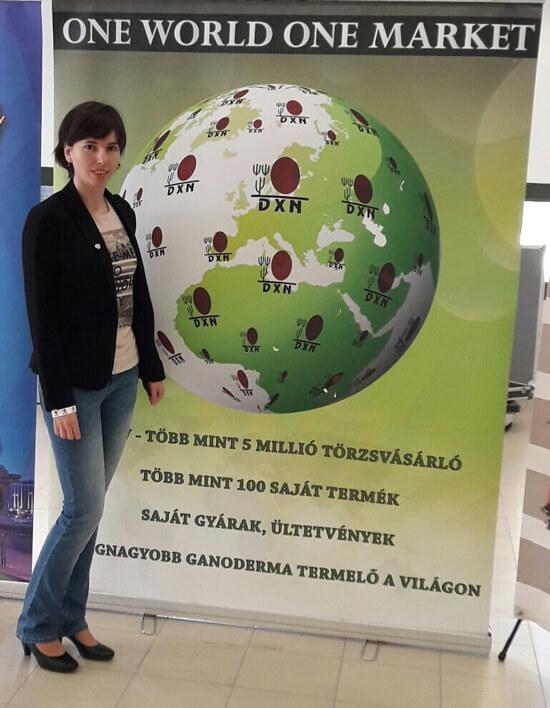 Strifler Anita - I. Európai DXN Csúcstalálkozó