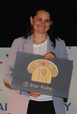 Striflerné Erzsébet Star Ruby
