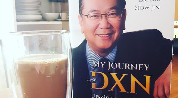Utazásom a DXN-nel könyv